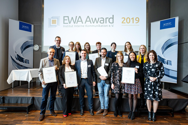 Preisträger des EWA Award 2019