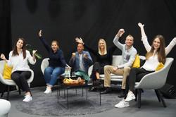 Das Redaktionsteam von Drees & Sommer freut sich über den EWA Award 2020.