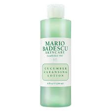 Mario bedascu cucumber cleansing lotion perfect for oily skin toning