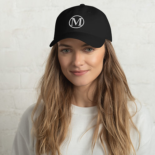 MOA White Lettering Dad Hat