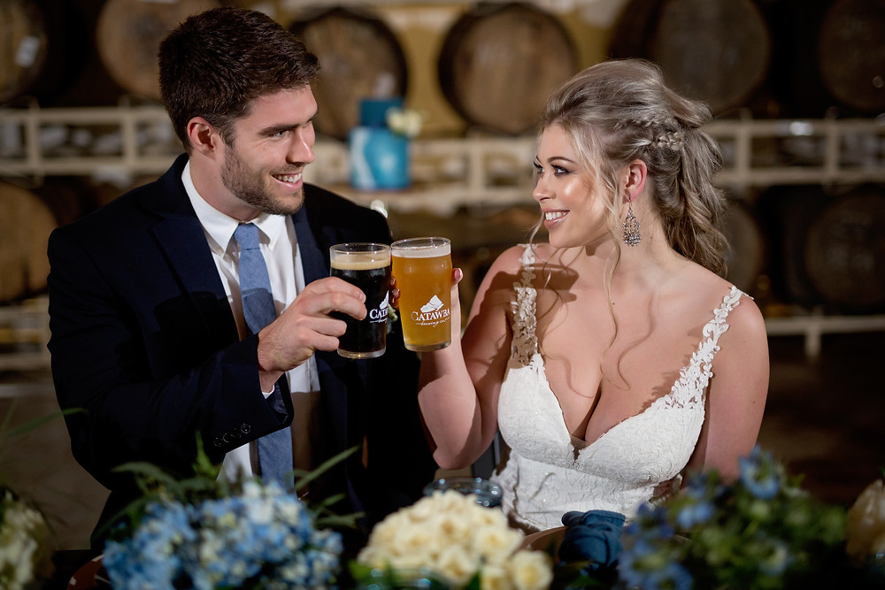 Professional Photograph by Elly's Photography at Catawba Brewing Company, Charlotte NC