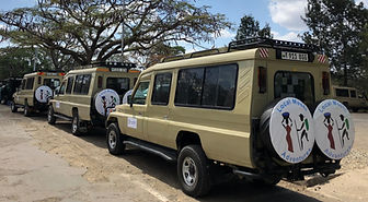 Local Moshi Adventures Safari Vehicles