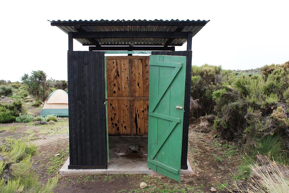 Kilimanjaro public toilet
