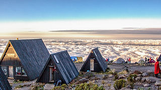 Above the clouds Horombo Hut Kilimanjaro