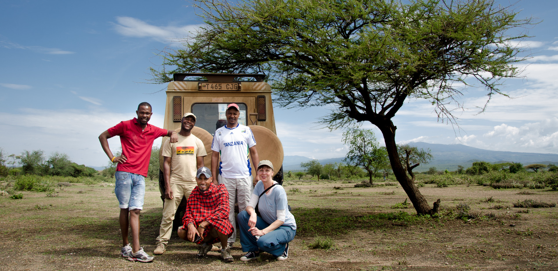 Local Moshi Team at Lake Eyasi