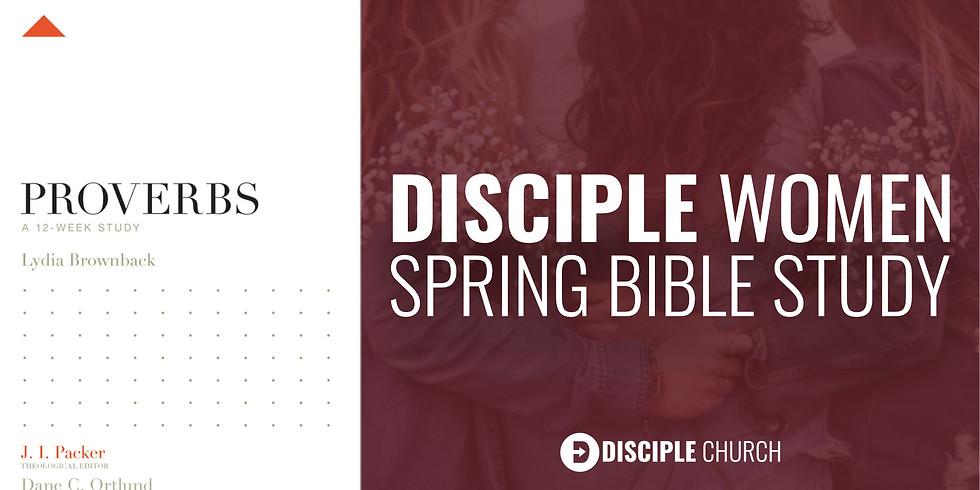 Women's Spring Bible Study Wednesday AM