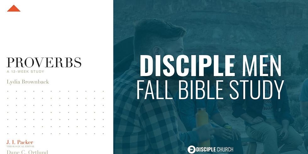 Disciple Men's Fall Bible Study