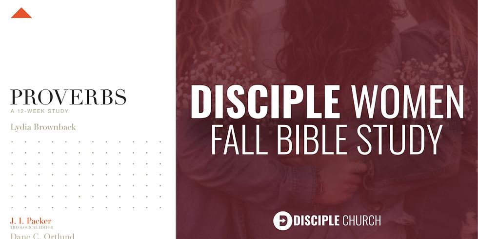 Disciple Women's Fall Bible Study | Thursday P.M.