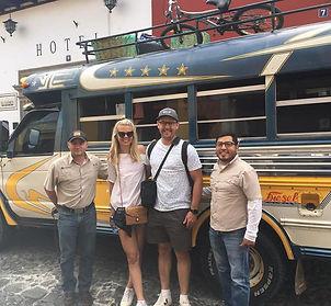 Alejandro Chicken bus