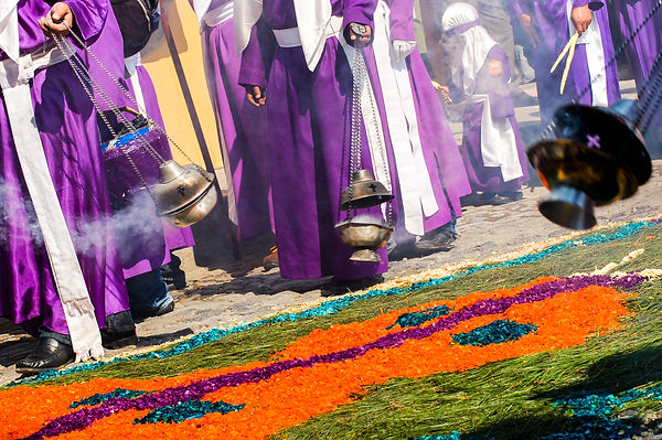 Semana Santa Holy Week Procession incens
