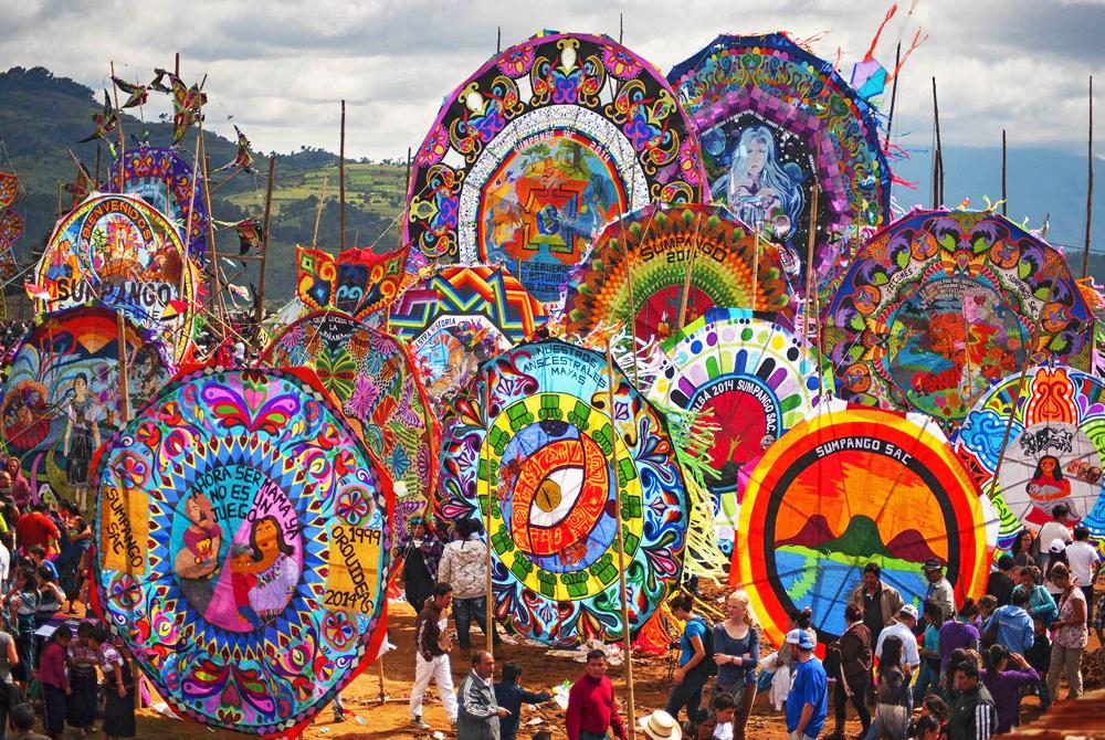 Guatemala todos santos kites