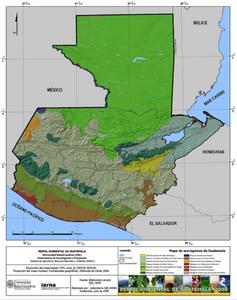 Aquí la división de nuestras zonas de vida, para distinguir gráficamente porqué Petén