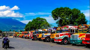Guatemala's Chicken Bus
