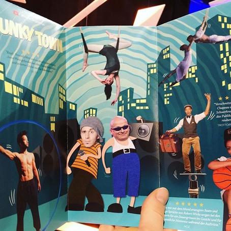 Funky Town Proben und Premiere im GOP Varieté in Essen