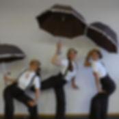 Künstlerinnen bei einer 20er Jahre Swing Tanzshow bei einem Event