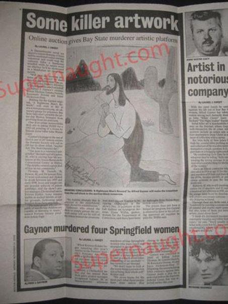 Alfred Gaynor Newspaper