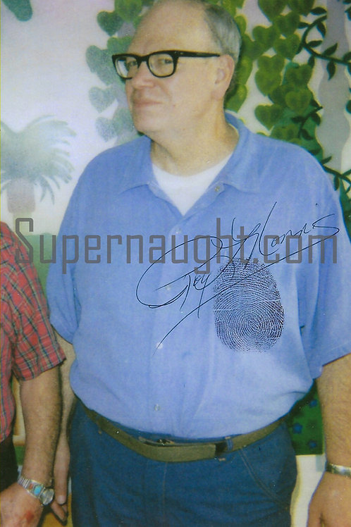 roy norris signed photo