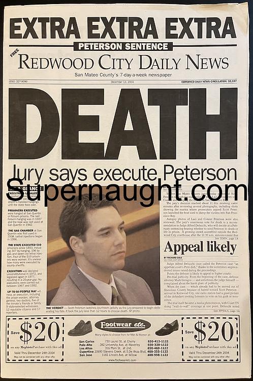 scott peterson death
