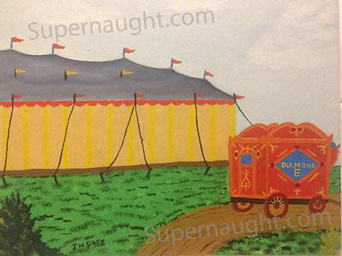 John Wayne Gacy circus painting