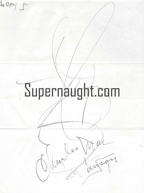 Charles Manson Day Artwork