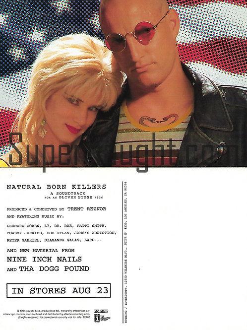 Natural Born Killers Postcard