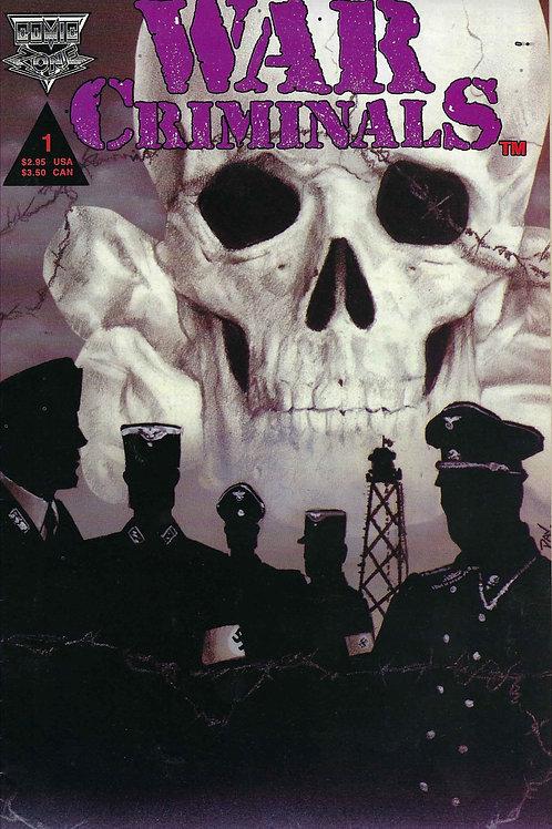 War Criminals Adolf Eichmann Comic Book