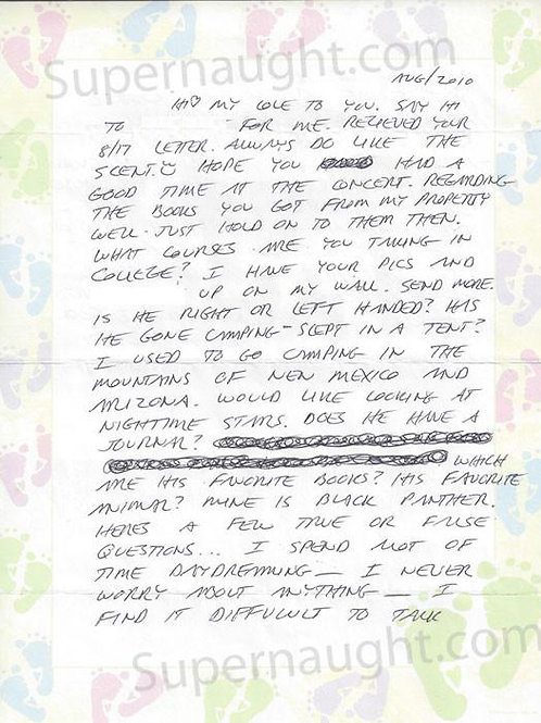 Richard Ramirez letter