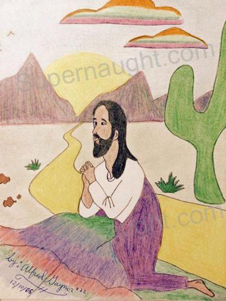 Alfred Gaynor Jesus Artwork