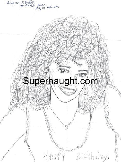 Robert Bardo Rebecca Schaeffer drawing