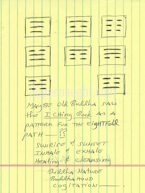 Herbert Mullin Signed I Ching Pattern