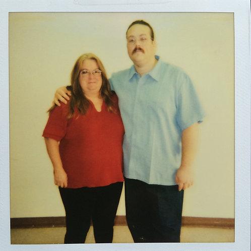 Anthony Leon Wolfe Prison Polaroid