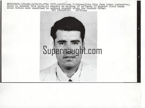 Juan Corona press photo