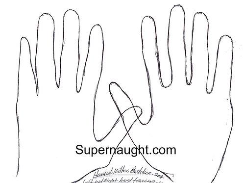 Howard belcher hand tracings
