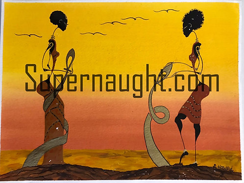 Alphonso Howard Painting