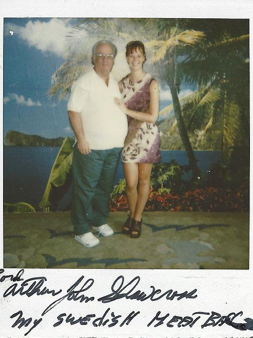 Arthur Shawcross autographed polaroid