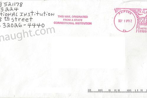 Danny rolling envelope