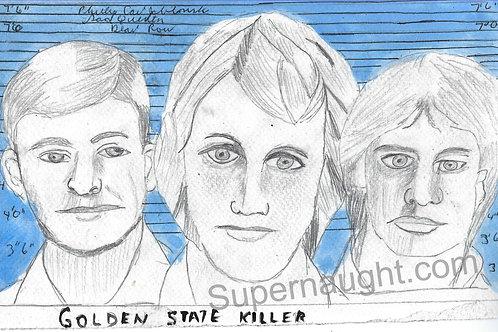 Phillip Jablonski Golden State Killer art