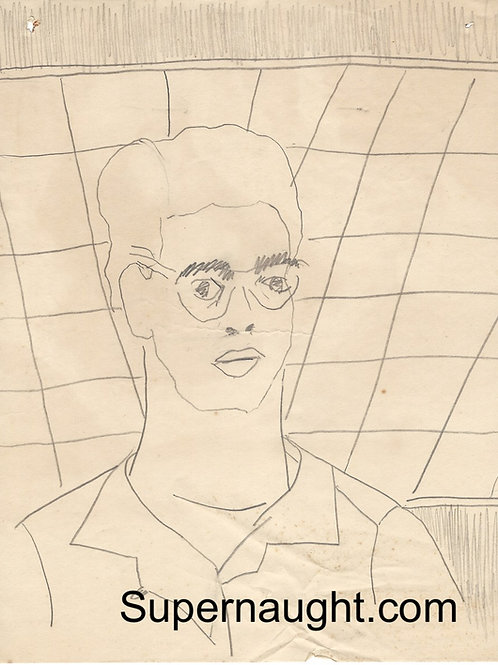 Bob Berdella drawing