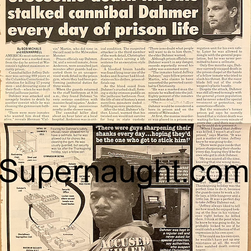 Jeffrey Dahmer newspaper article
