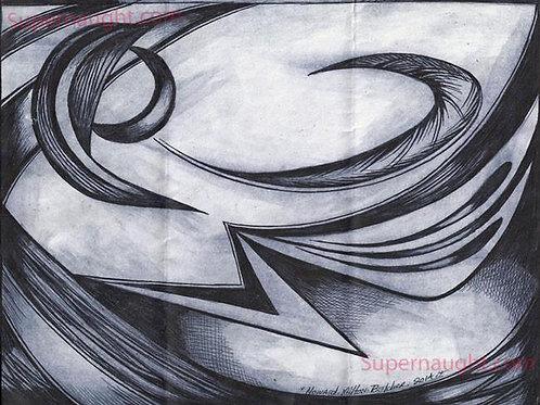howard Milton belcher drawing