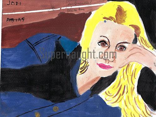 Phillip Jablonski Jodi Arias Painting