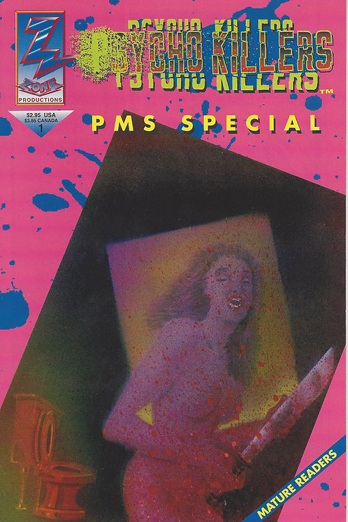 Psycho Killers PMS Special Comic Book 1st Printing