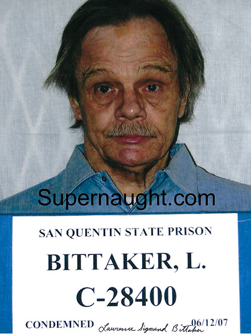 Lawrence Bittaker autographed