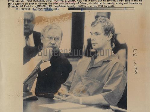 Jeffrey Dahmer Must Determine Sanity Press Photo