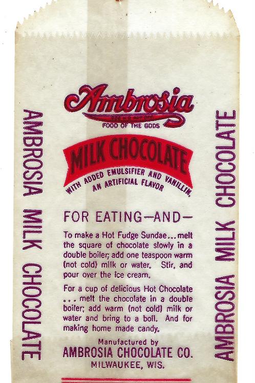 Ambrosia Chocolate Jeffrey Dahmer