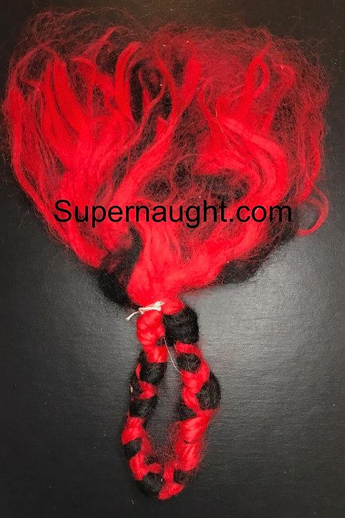 Charles Manson handmade string art doll