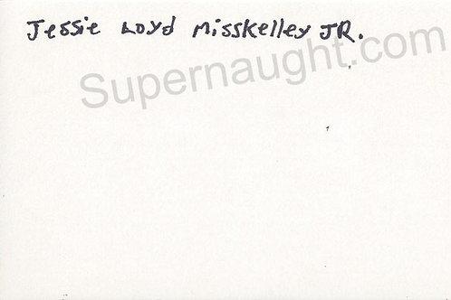 Jessie Lloyd Misskelley Jr. autograph