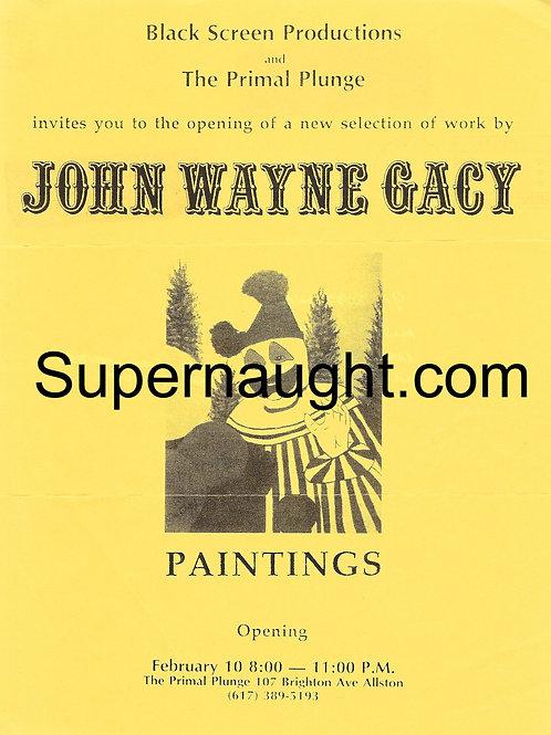 John Wayne Gacy Art Exhibit