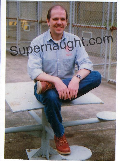 Dayton Rogers Prison Photo Signed