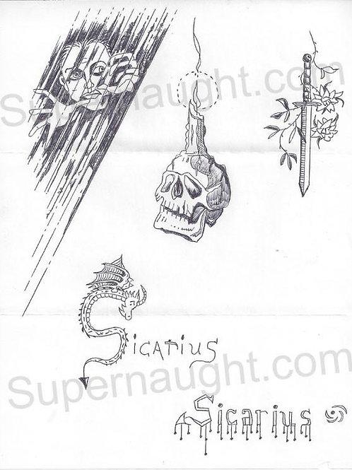 Danny rolling sicarius drawing